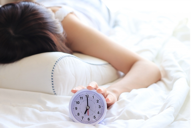 光で起こす目覚まし時計