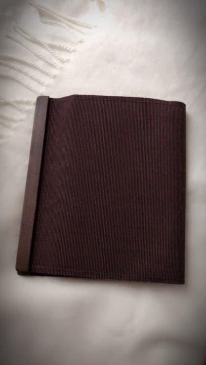 マグネット式ブックカバー表紙