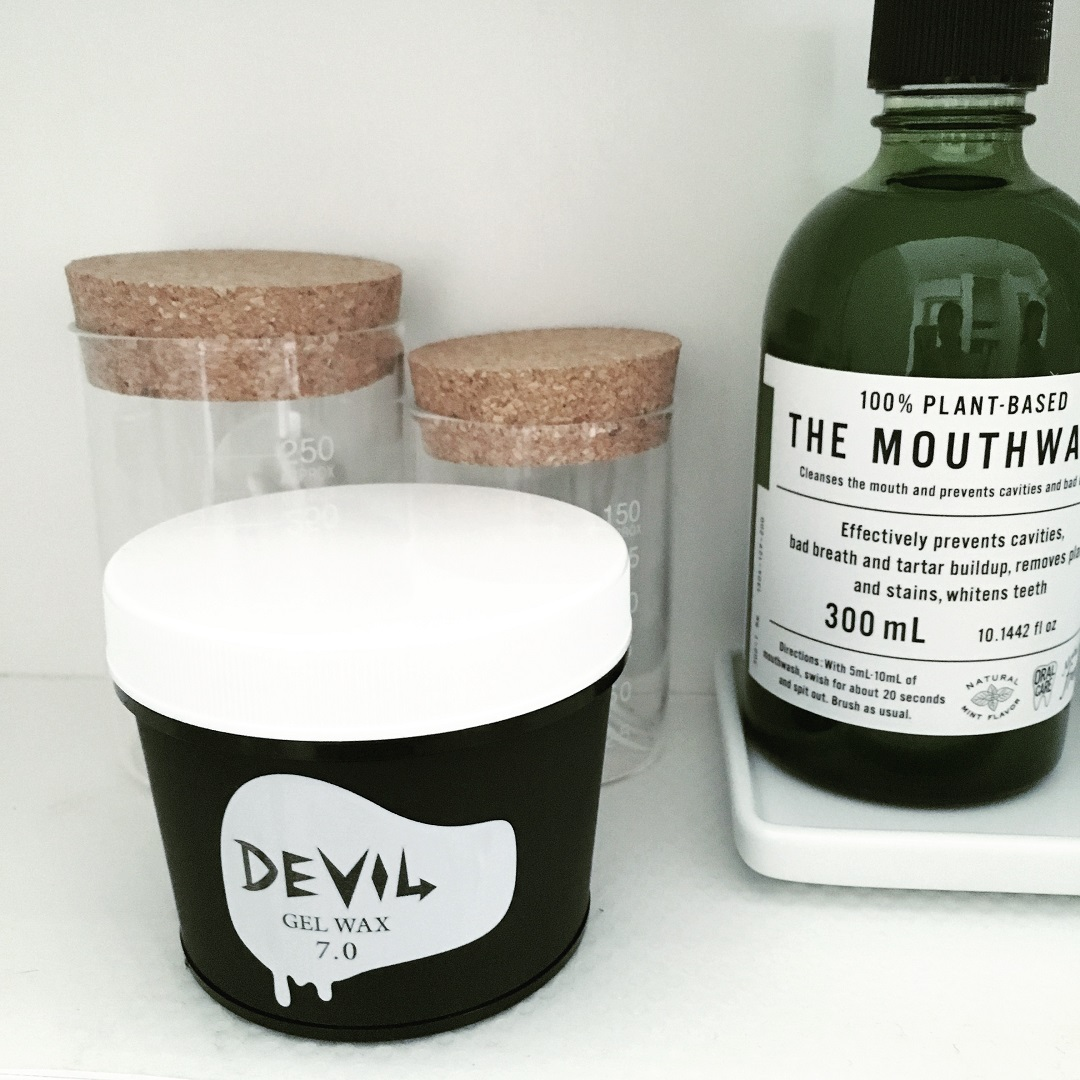 ワックス ヘアスタイリング剤 devil