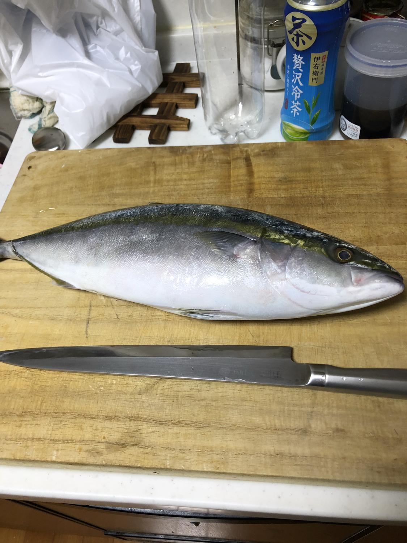 魚と出刃包丁