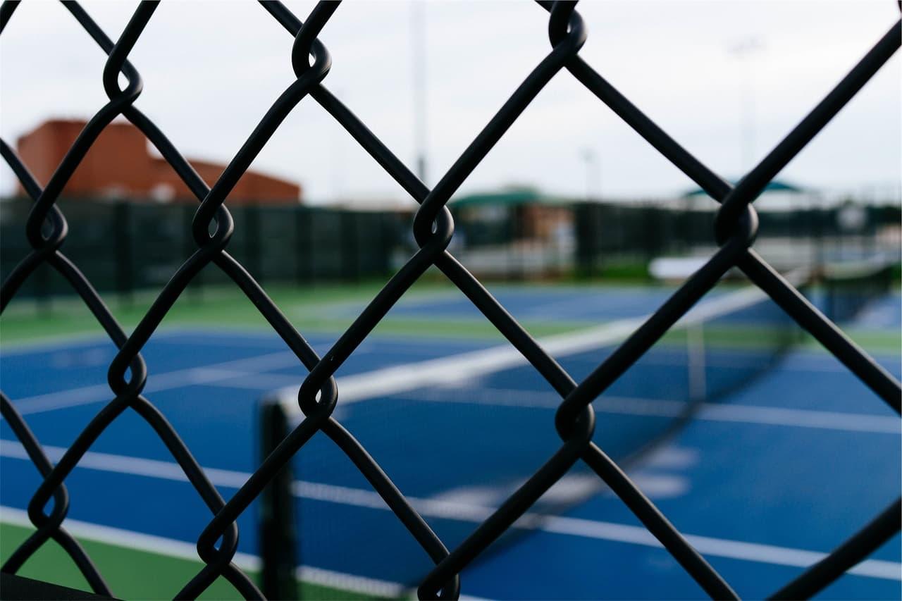 軟式テニス金網