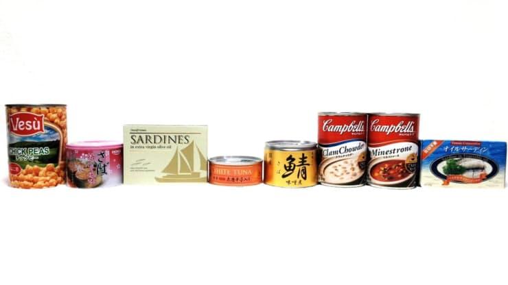 缶詰め8品