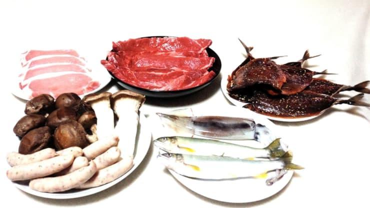 バーベキュー食材8種