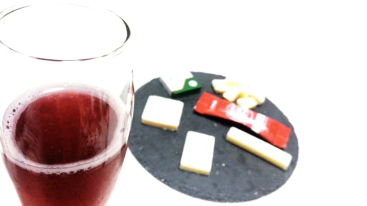 スパークリングワインとチーズ