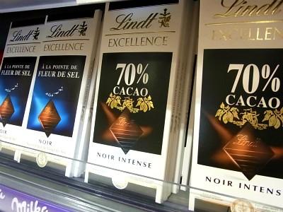 リンツの板チョコレート