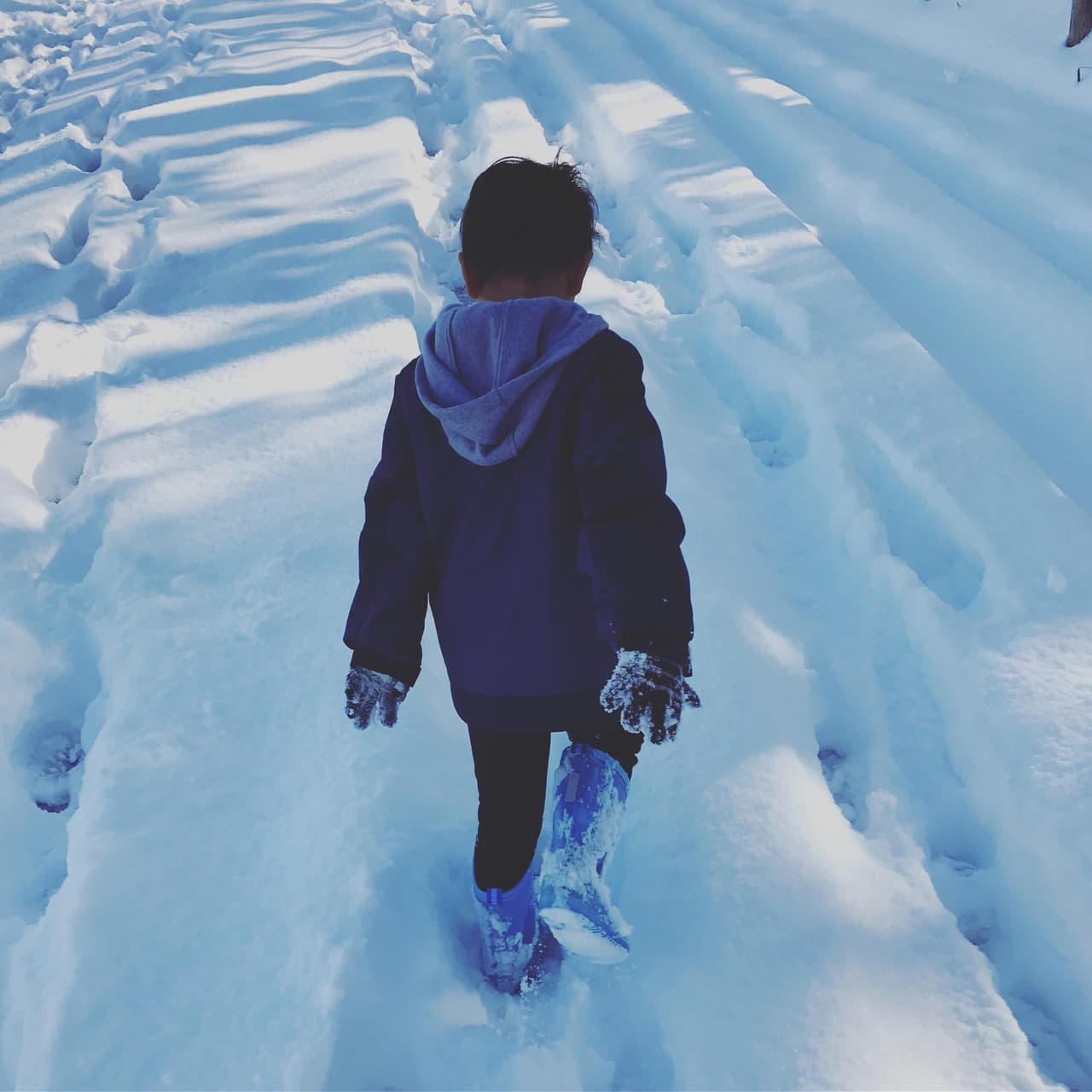 雪 長靴 子ども 冬