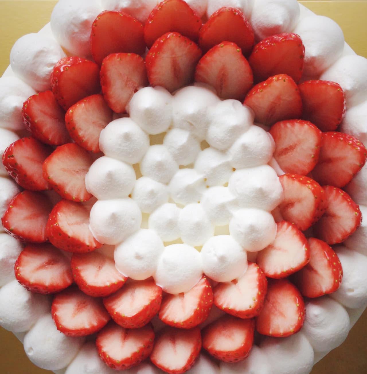イチゴ ショートケーキ 生クリーム