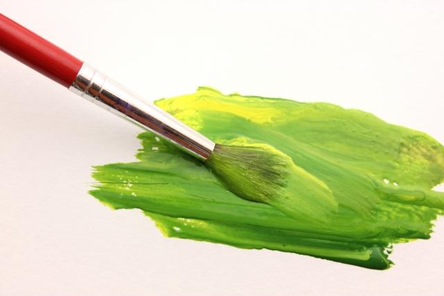 絵の具で色を作る