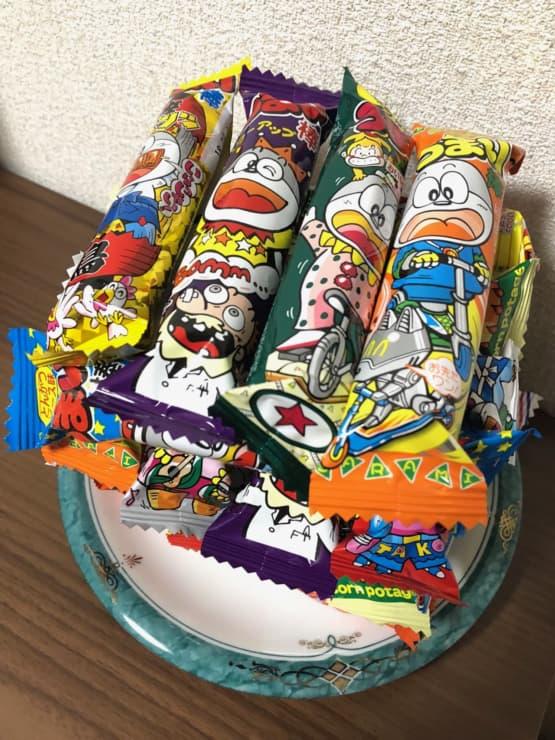駄菓子の代表【うまい棒】豊富なバリエーション!