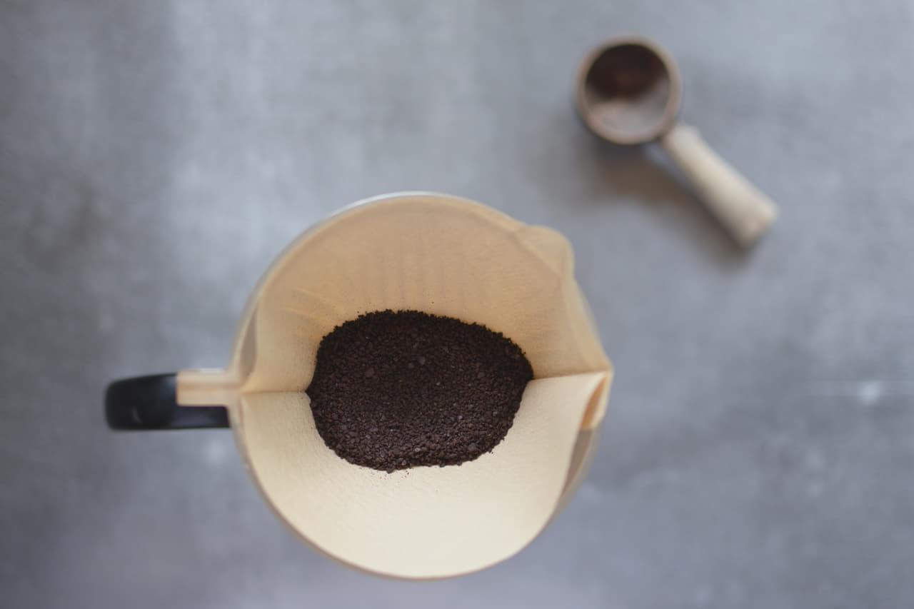 キッチンペーパー コーヒー