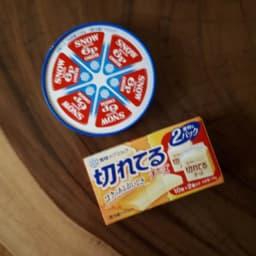6Pチーズと切れてるチーズ