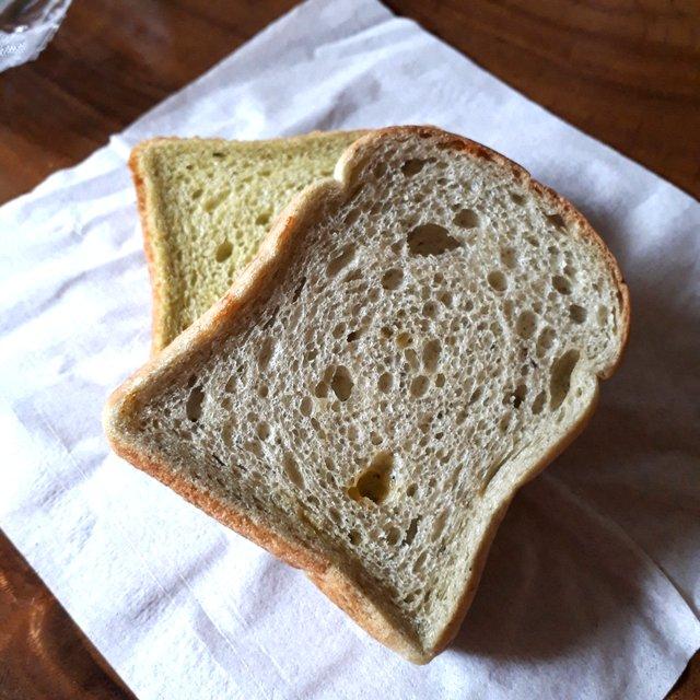 ホウレンソウ食パン