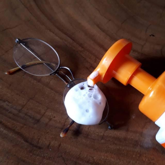 メガネクリーナー 泡洗浄