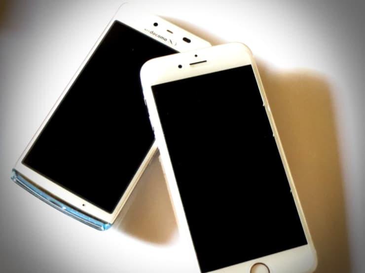 iPhoneとスマホ