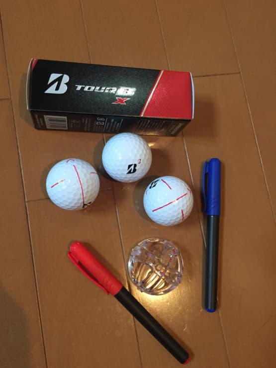 ゴルフボールマーカー