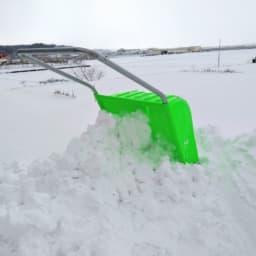 スノーダンプ 雪かき
