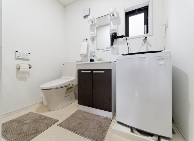 トイレ付き洗面所