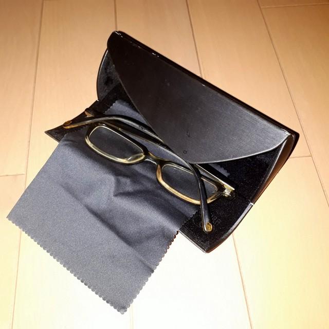 メガネケース三角型