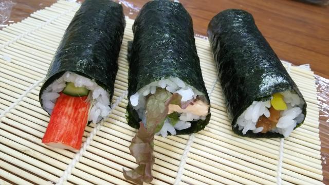 様々な巻き寿司