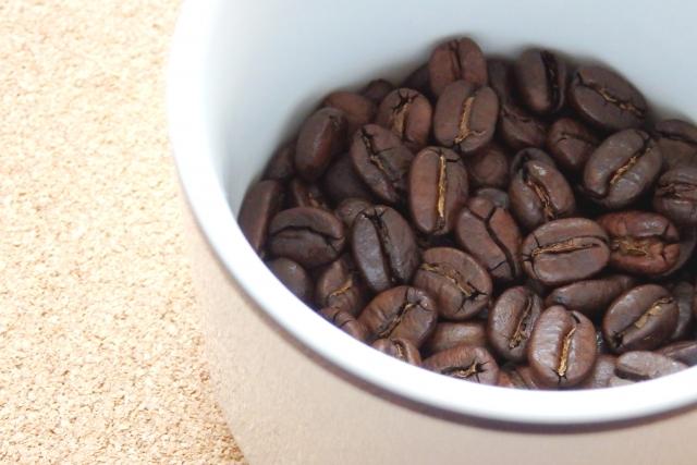 コーヒー豆で消臭