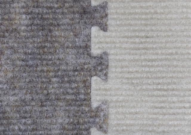 パズルのようにはめるカーペット