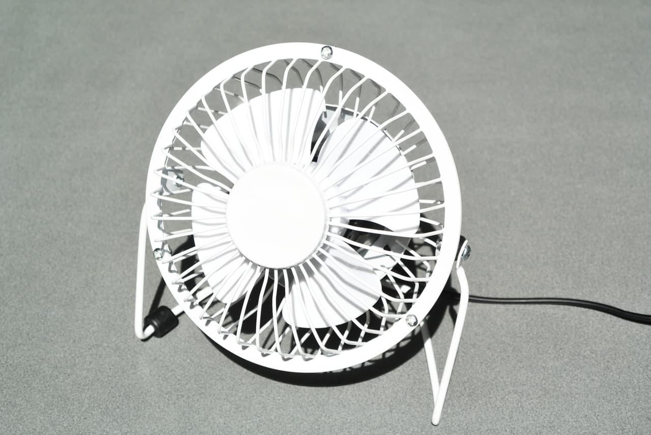 卓上型扇風機