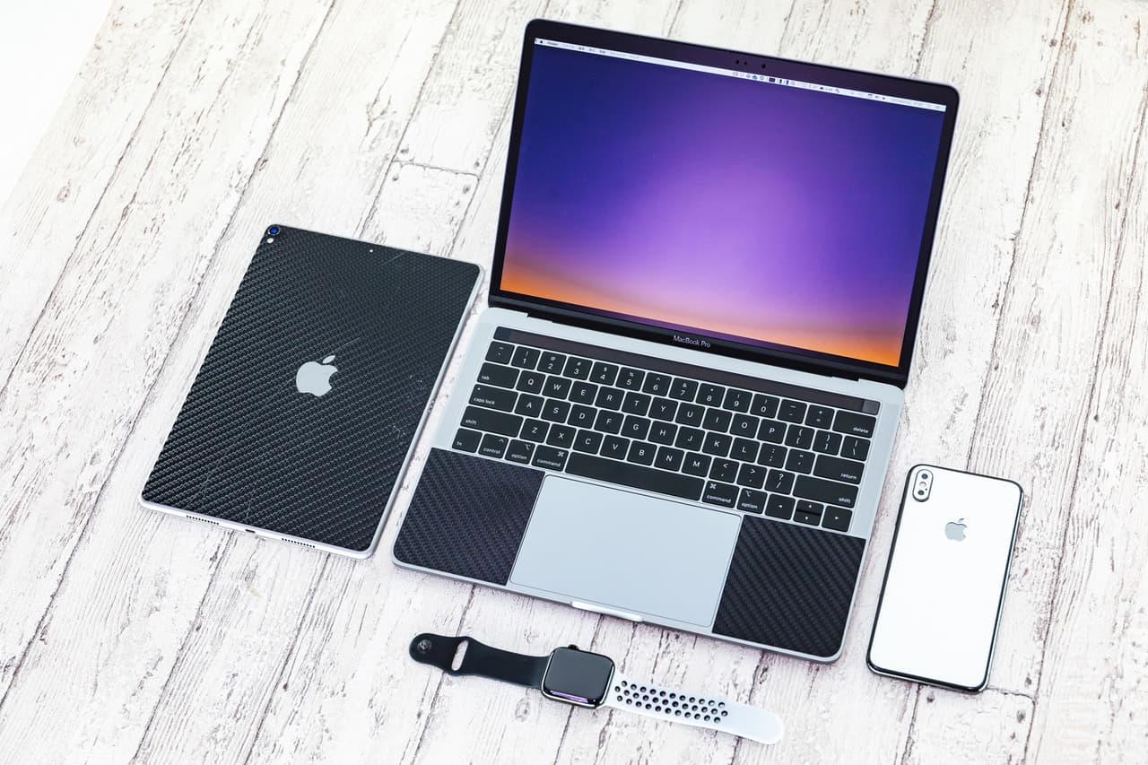 iPhone パソコン