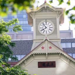 北海道 時計台 自然