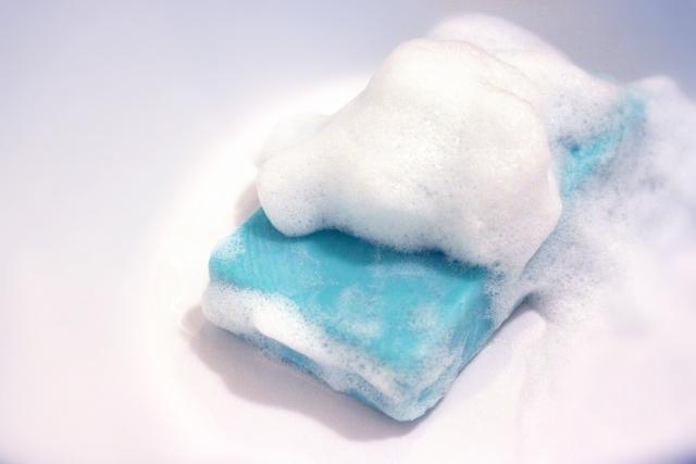 泡立ちの良い石鹸