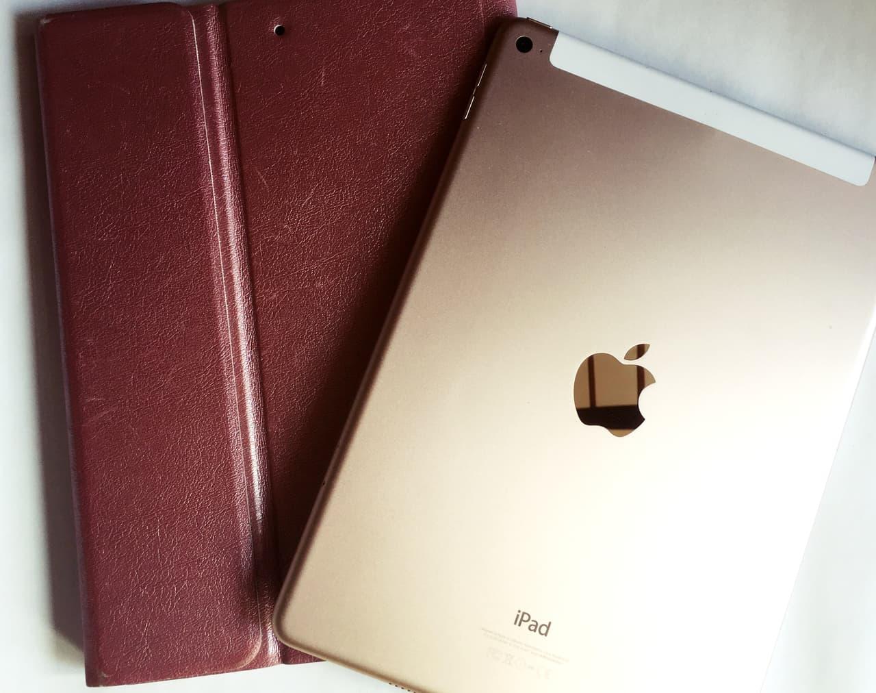 iPad Airとカバーの画像