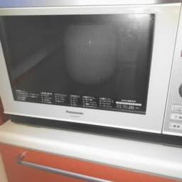 電子レンジで炊飯中