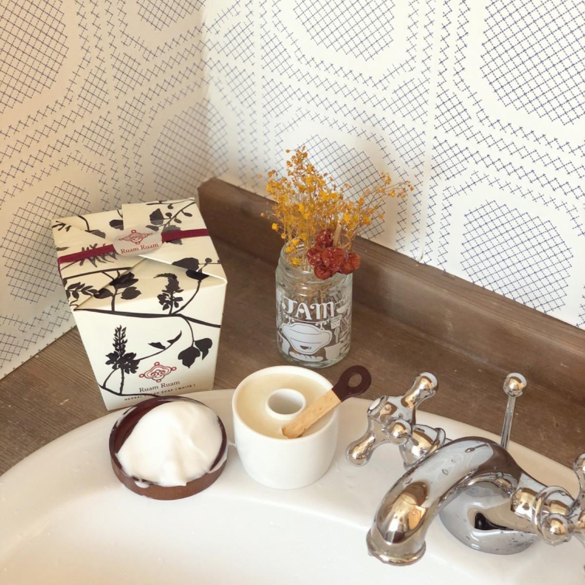 洗顔 洗面台 水道