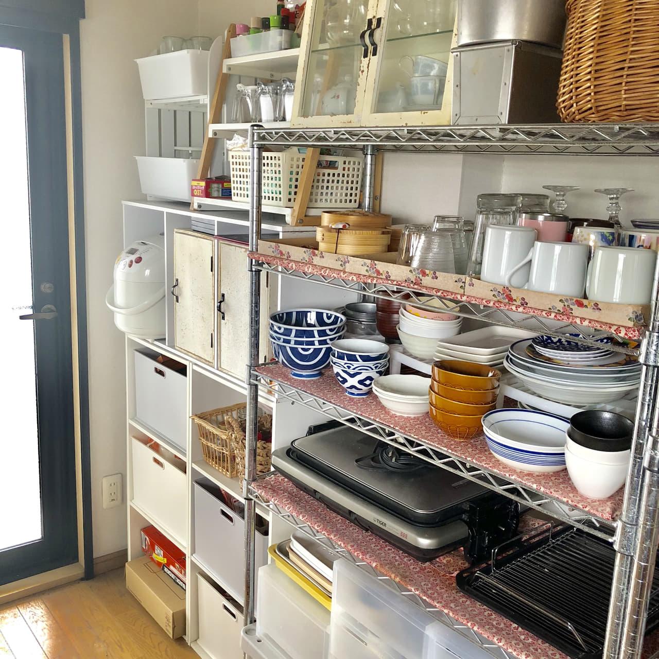 食器棚シート