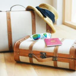 2つのスーツケース