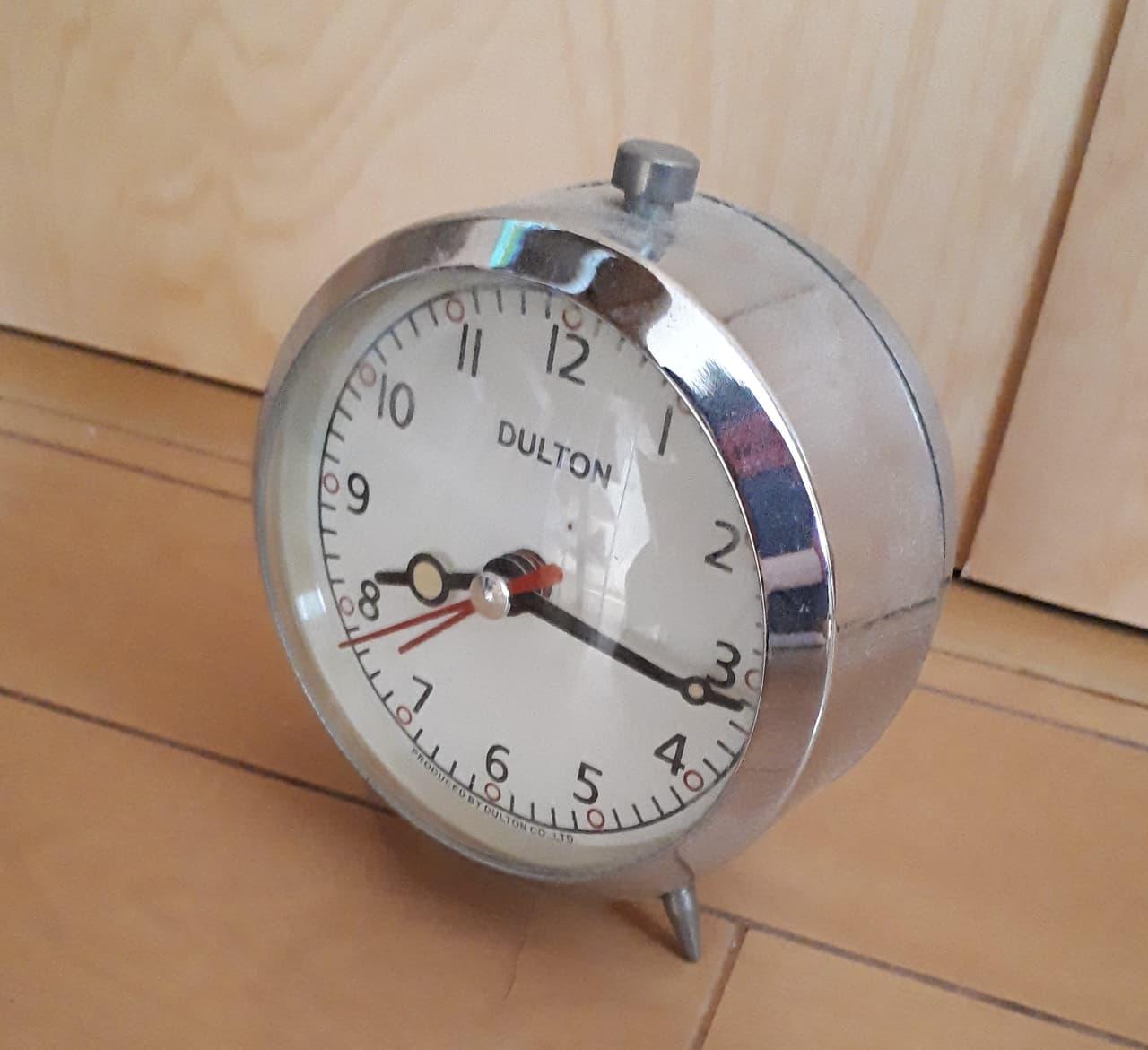 ベル付き時計