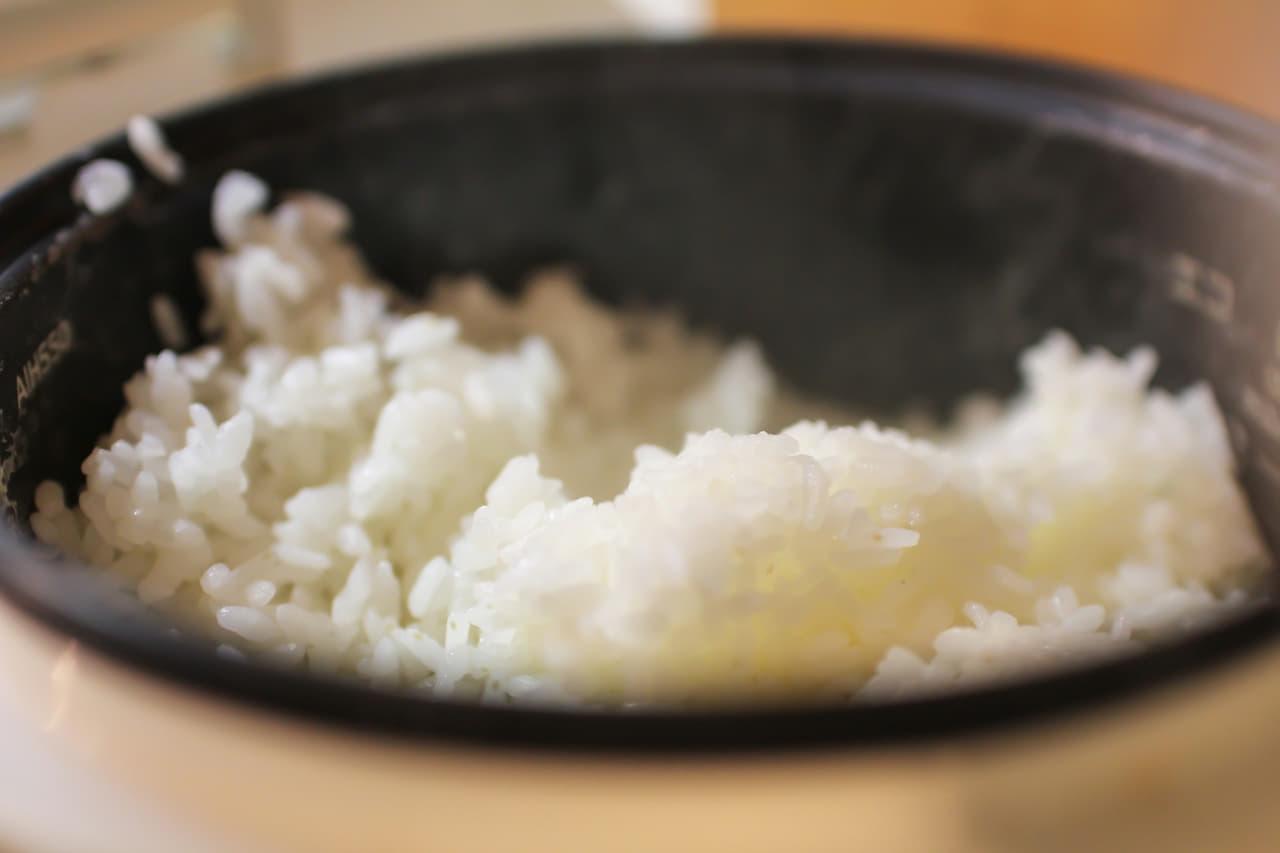 炊飯器 白米 炊きたて