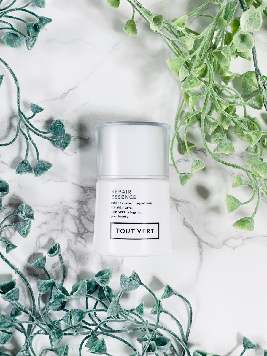 美容液と植物