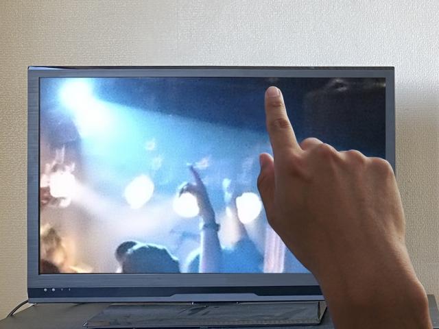 ライブ映像を観る人