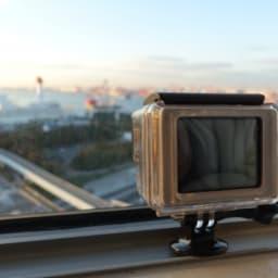 GoProカメラと風景