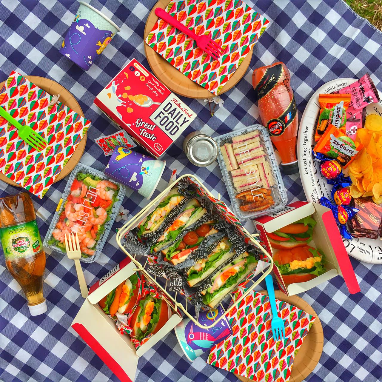 ピクニック お弁当
