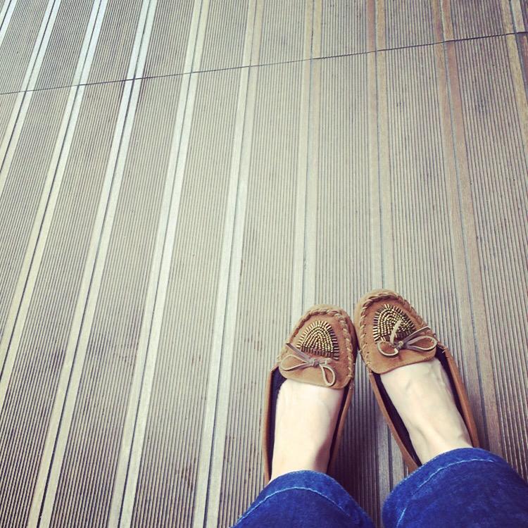 靴 モカシン