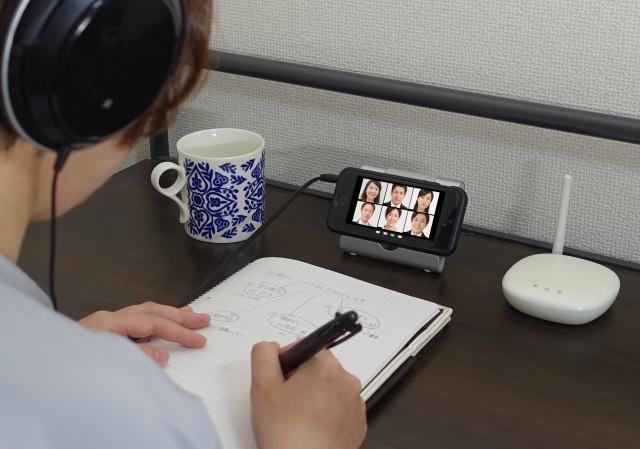 ポータブルテレビで勉強