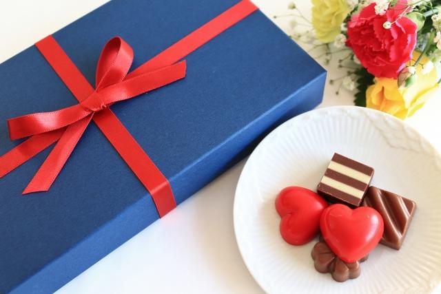 プレゼント用チョコレート