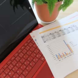 パソコンと統計資料