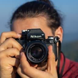 ニコンの一眼レフカメラ