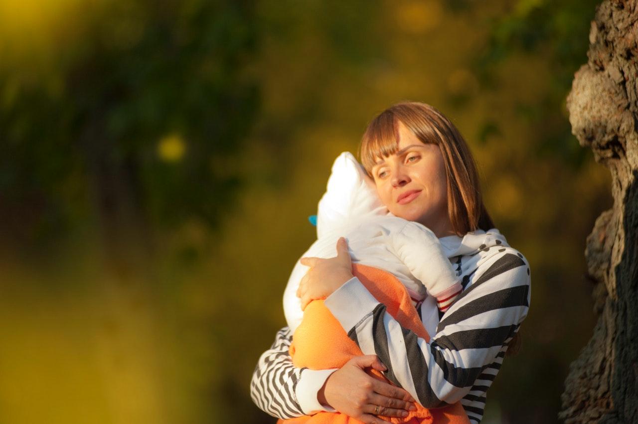 抱っこ紐 お母さん 赤ちゃん