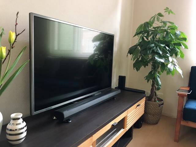 テレビ台のサウンドバー