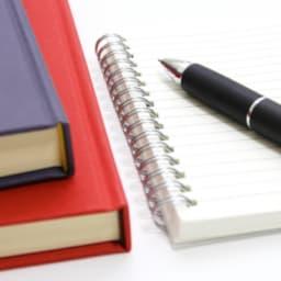 本とメモ用紙