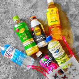 複数のペットボトル飲料