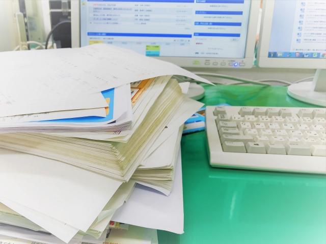 書類を読みこむ